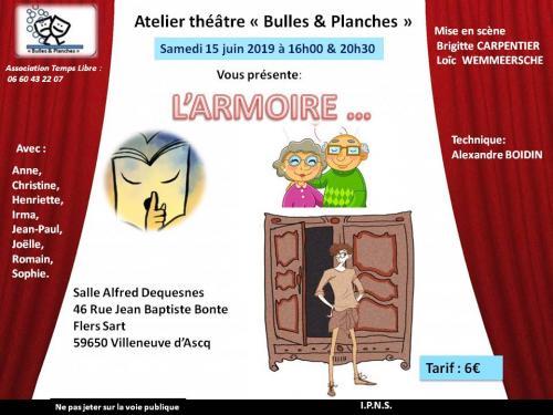 L'Armoire, théâtre comique