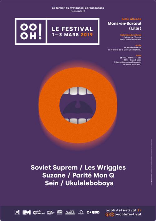Oooh! Le Festival – Les Wriggles + PMQ, l'élégance voQale