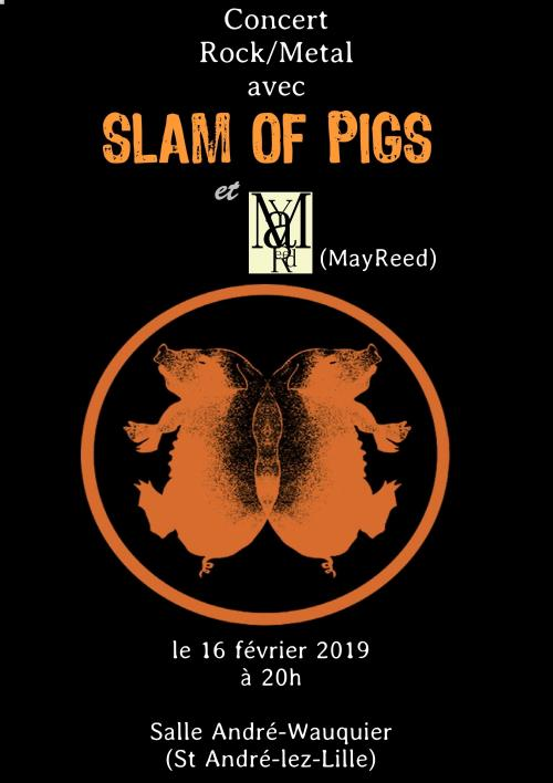 Slam of Pigs + Mayreed
