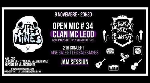 Open Mic du Clan Mc Leod