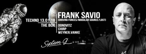Take the night w/ Frank Savio & more