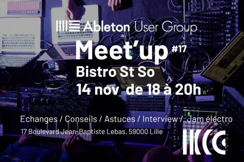 Meet'up #17 au Bistrot St So
