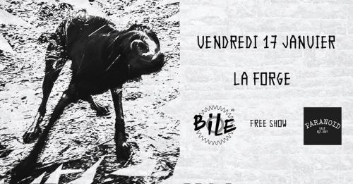 BiLE + Paranoïd à La Forge