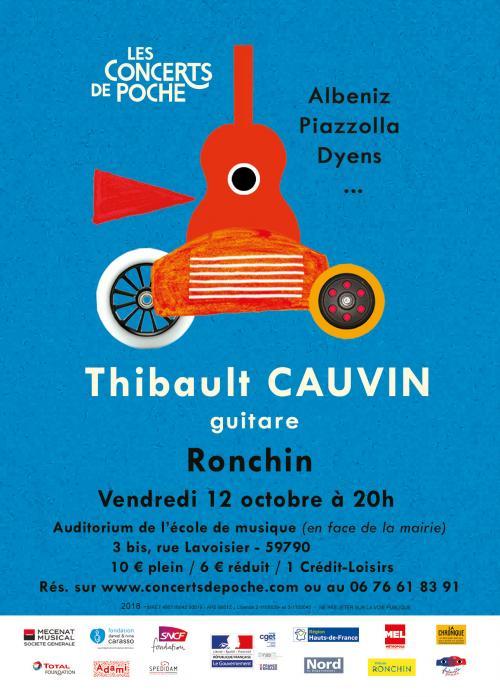 Thibault Cauvin en concert à Ronchin