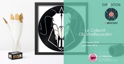Sculptures 100% disques vinyles