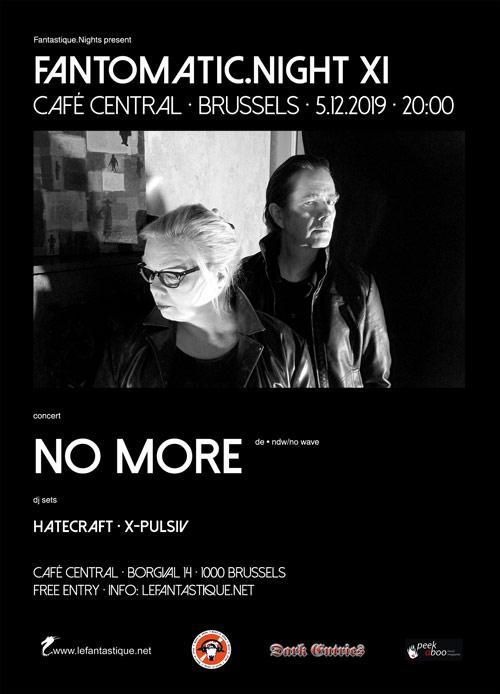 No More & DJ sets au Café Central