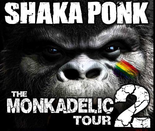 Shaka Ponk – The Monkadelic Tour 2