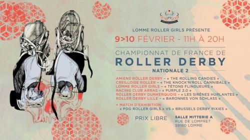 Championnat de France de Roller Derby Nationale 2