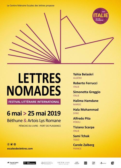 Lettres Nomades, le festival littéraire international