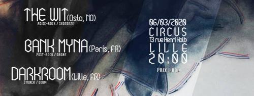 Soirée Post-Rock/Noise au Circus