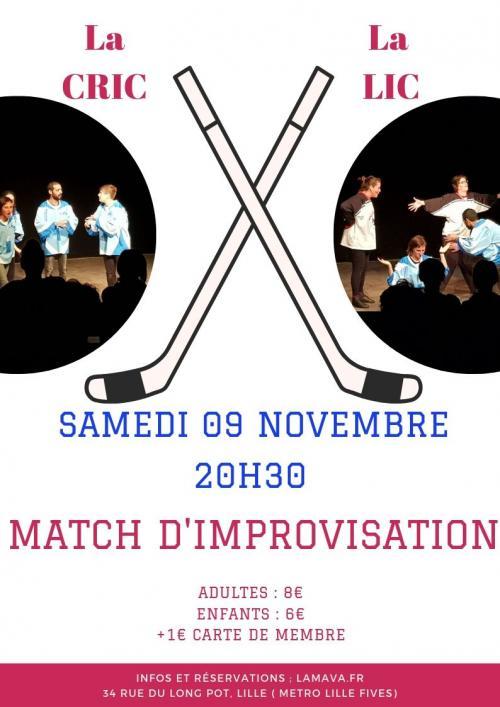 La CRIC et la LIC – Match d'improvisation