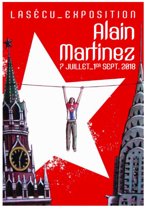 Alain Martinez, son exposition est à découvrir à Lasécu