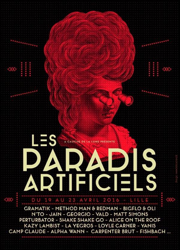 Jain + Shake Shake Go + Camp Claude au Splendid – Paradis Artificiels 2016