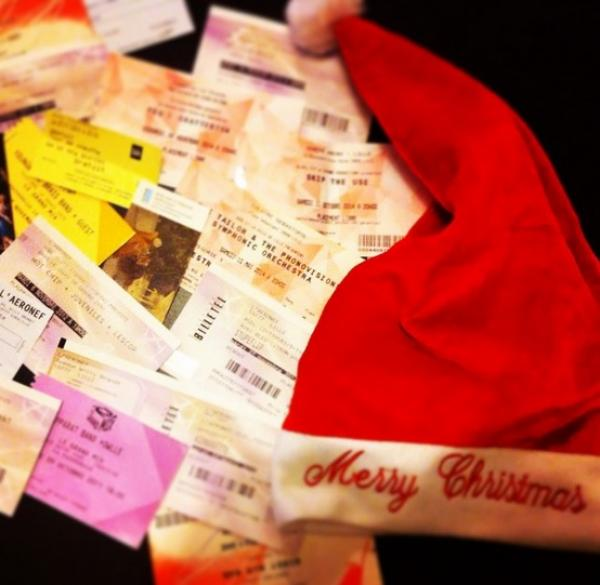 C'est l'heure d'offrir des places pour Noël !