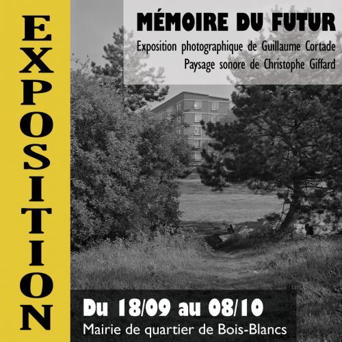 Mémoire du futur, une exposition en noir et blanc