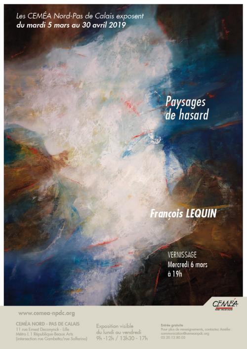 Paysages de hasard de François Lequin