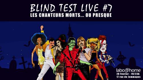Blind Test Live #7 – Chanteurs morts ou presque