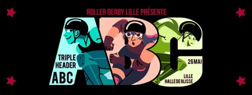 Triple Header ABC – Roller Derby