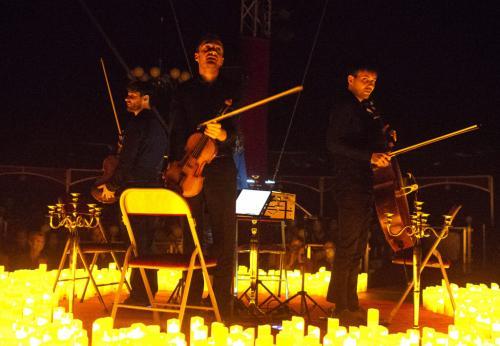 Candlelight, le concert sur les musiques de films célèbres, à la lueur des bougies