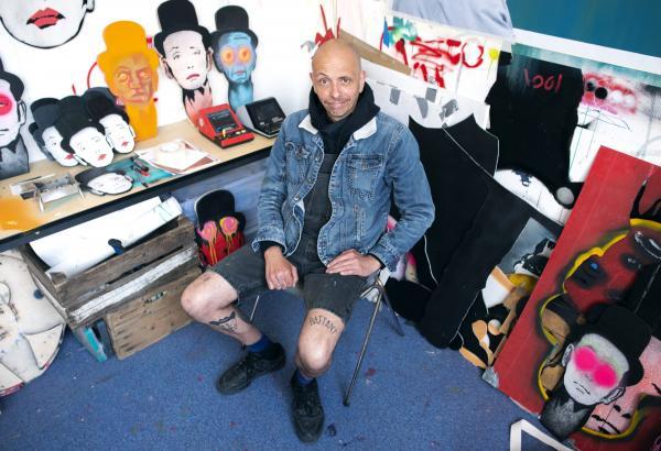Mr VOul, artiste urbain roubaisien