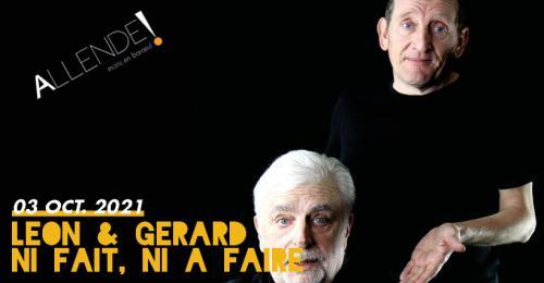 Léon et Gérard présentent le spectacle patoisant «Ni fait, ni à faire»