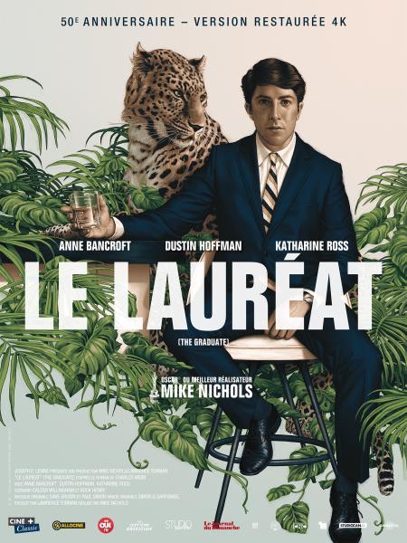 «Le Lauréat» : Film mythique sur la jeunesse, avec Dustin Hoffman et la musique de Simon and Garfunkel