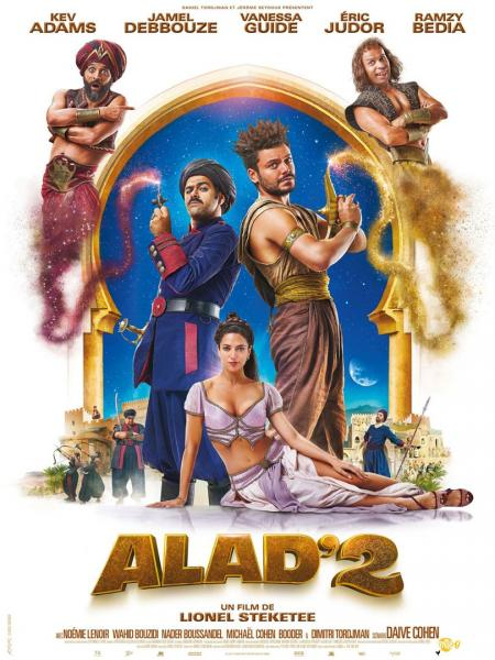Des invitations pour Alad'2 en avant-première en présence de Kev Adams et Lionel Steketee