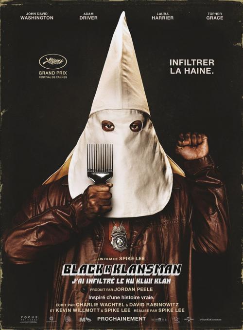 BlacKkKlansman – J'ai infiltré le Ku Klux Klan en avant-première