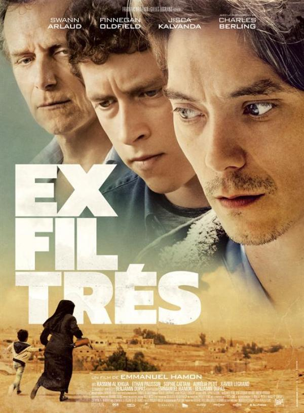 «Exfiltrés» : Interview du comédien Swann Arlaud et du producteur Frédéric Brillion