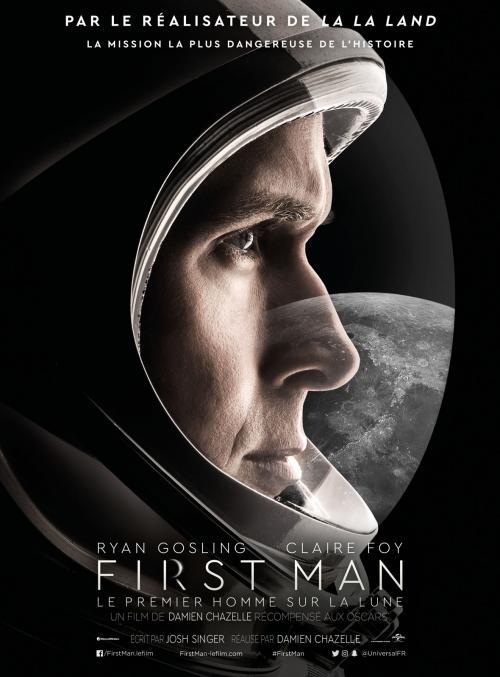 «First Man – Le premier homme sur la lune» : Après «La La Land», la nouvelle collaboration de Damien Chazelle avec Ryan Gosling