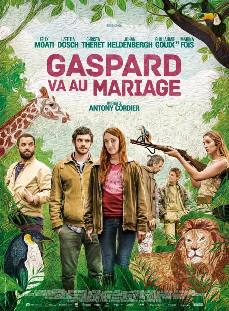«Gaspard va au mariage» : Une comédie originale, poétique, sensuelle, animale, avec un casting au poil !