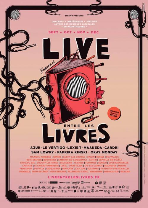 """Des nouveaux """"Live entre les livres"""" avec des artistes locaux"""