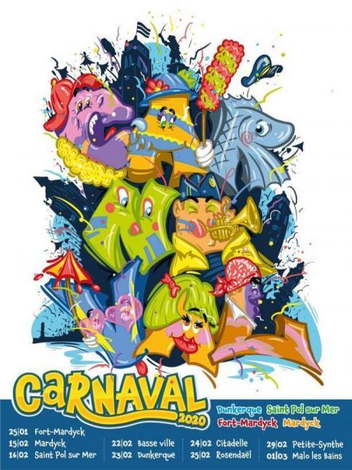Les dates du Carnaval de Dunkerque 2020
