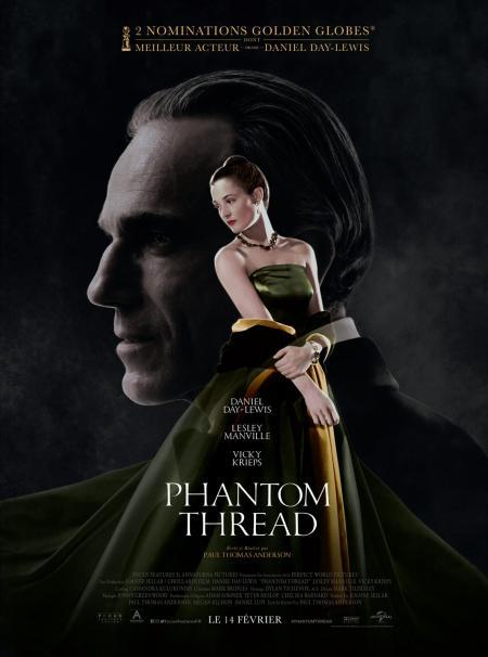 «Phantom Thread» : Paul Thomas Anderson filme la mode, l'amour, ses cruautés et Daniel Day-Lewis dans son dernier rôle