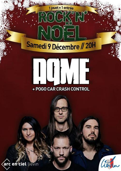 Rock'n'Noël : AqME + Pogo Car Crash Control