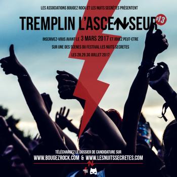Tremplin l'Ascenseur, la treizième édition est lancée !