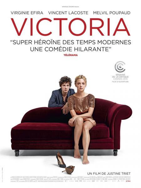 Victoria : La comédie qui peut valoir le César de la meilleure actrice à Virginie Efira !