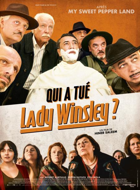 «Qui a tué Lady Winsley ?» : Hiner Saleem signe une enquête à la Agatha Christie dénonçant l'intolérance