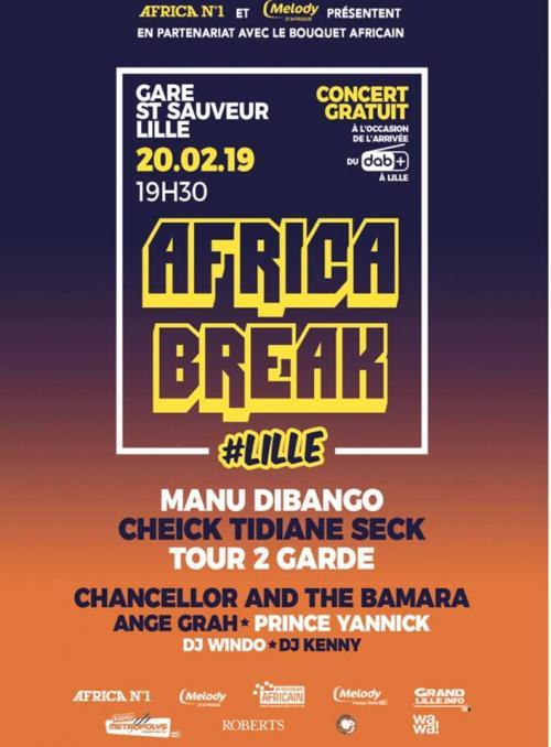 Africa Break : Manu Dibango, Cheick Tidiane Seck…