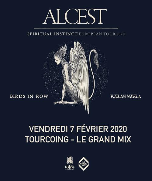 Alcest + Birds In Row + Kælan Mikla