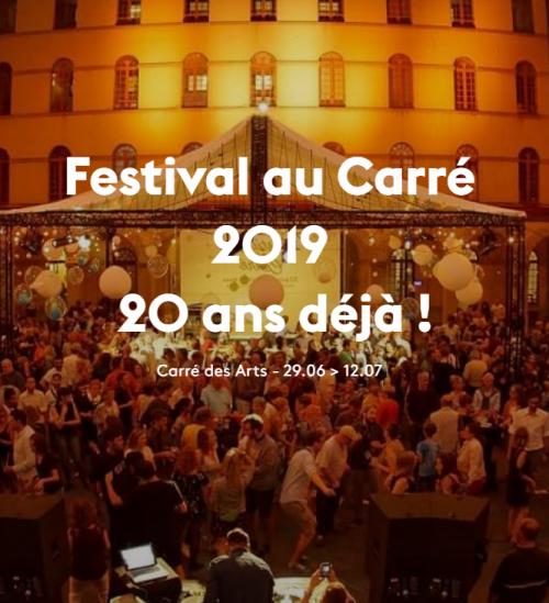 Festival au Carré à Mons