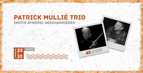 Patrick Mullié trio invite Aymeric Descharrières