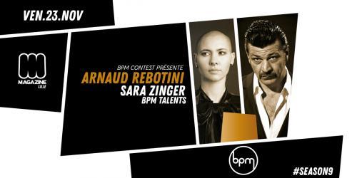 BPM : Arnaud Rebotini + Sara Zinger