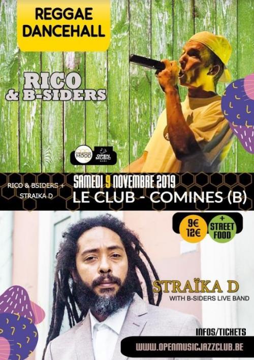 Straika D + Rico & B-Siders