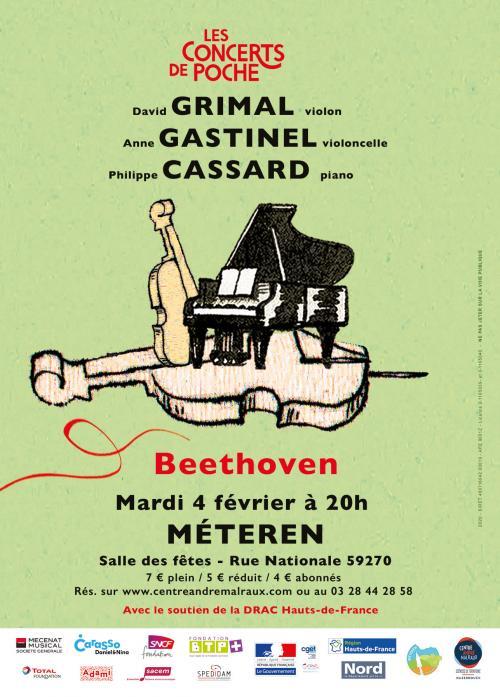 David Grimal, A. Gastinel et P. Cassard