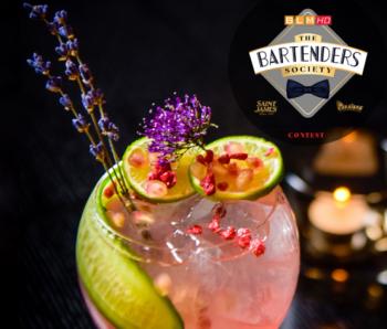 Associer cocktail et pâtisserie pour gagner le Bartenders Society 2019 !