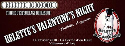 Belette Valentine's Night