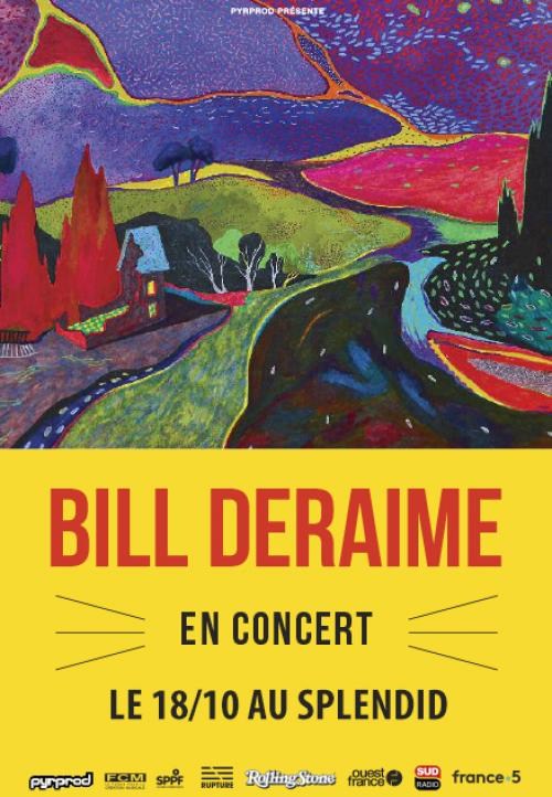 Bill Deraime en concert au Splendid