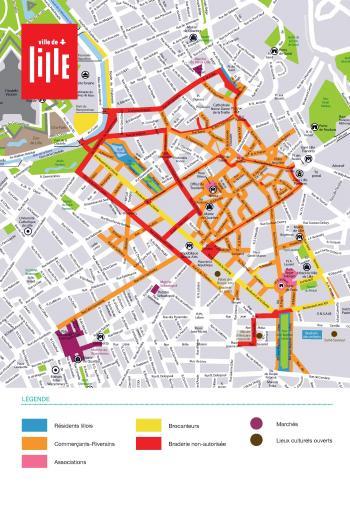 La Braderie de Lille 2018 : le plan, les animations culturelles, les inscriptions…