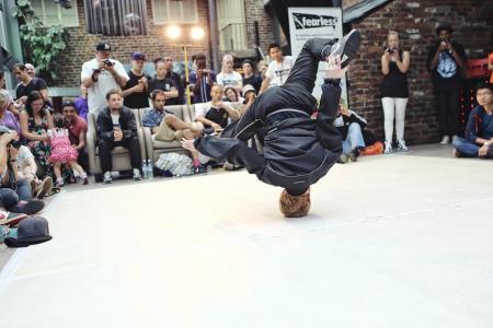 Training de Breakdance chaque jeudi avec le Flow
